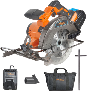 5.VonHaus-Cordless-Circular-Saw-with-3.0Ah-Li-ion-20V-MAX-Battery,-Charger,