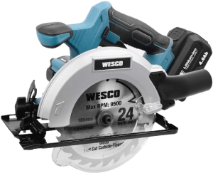 6.WESCO-Cordless-Circular-Saw-18V-with-4.0Ah-Battery